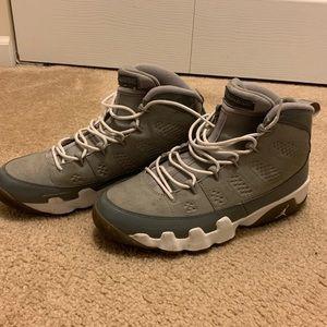 Jordan 9's Cool Grey Men's Size 10